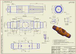 Чертежи, 3D модели в Autodesk inventor, Компас