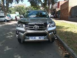 TOYOTA FORTUNER WITH AN ENGINE CAPACITY OF 2,8