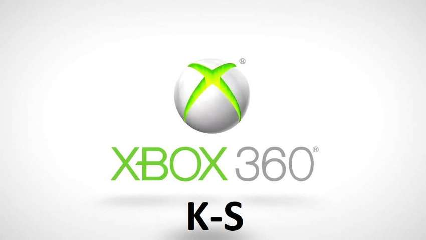 Xbox 360 Games for Sale K-S 0