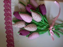 Текстильные тюльпаны. Тюльпаны Тильда