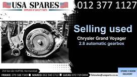 Chrysler Grand Voyager 2.8* 2008-19 used automatic gearbox for sale