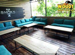 Мебель из поддоно паллет в стиле loft лофт стулья,столы,кресла ,диваны