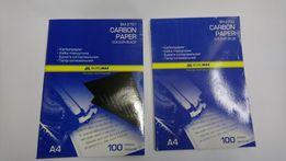 Копировальная бумага(копирка) Buromax А-4 ,синяя и черная