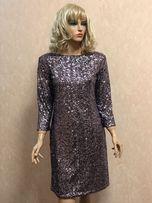 Вечернее платье в паетках Glamorous 38р