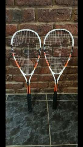 2 x squash racquets - both for 300