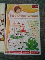 Tworzymy słowa zabawa słowna dla dzieci puzzle gra edukacyjna
