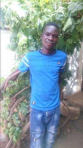 Malawian Garden boy looking for a job
