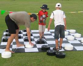 Giant Checkers For Hire