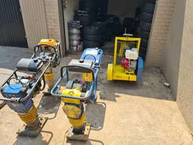 Rammers Whackers & Concrete Cutter Machines