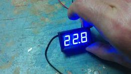 Термометр 12V LED цифровой