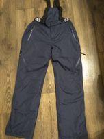 Зимние брюки- полукомбинезон