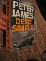 PETER James dead simple английский книга