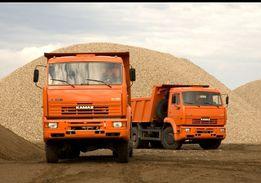 Песок Щебень Отсев и другие сыпучие материалы