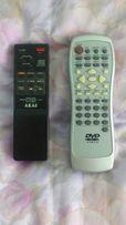 Пульт от DVD и пульт от видеомагнитофона