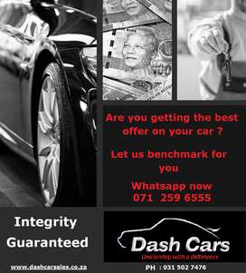 "With so many ""We will buy your car"" services out there,"