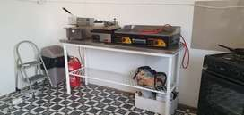 Takeaway For Rent Or Sale Kitchen & Tikka Stand Setup Busy Lo