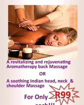 1 DAY SPECIAL   HOT OIL AROMATHERAPY MASSAGE