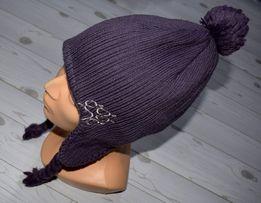 JACK WOLFSKIN r. M 50% wełny Stormlock czapka uszatka zimowa new model