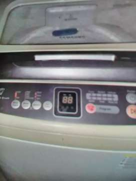 SAMSUNG METALLIC TOPLOADER WASHING MACHINE FOR SALE