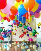 Balony z helem, hel do balonów, balony cyfry, balony litery,