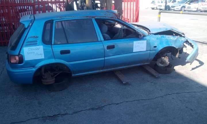 TOYOTA TAZZ STRIPPING FOR SPARES 0