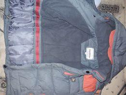 Зимние куртка и комбинезон рост 122