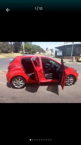Hyundai i20 red colour