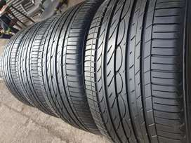 295_40/20.( X4) Set of four Yokohama tyres available for sale.99%