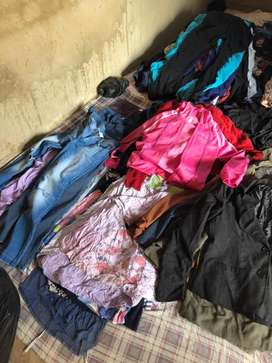 Second hand clothing & shoes