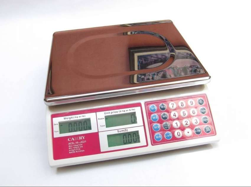 ACS 30 series digital price weighing scale 30kg 1 year warranty 0