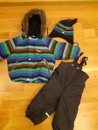 Зимний комбез+шапка Lenne