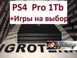 PS4 PRO 1TB + 30игр на выбор + отправка БЕЗ предоплат