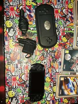 PSP with 9 games