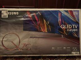 "Samsung Q7C 55"" Curved, новый"