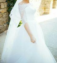 Платье свадебное, не венчано.