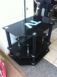 Glass t.v stand 0