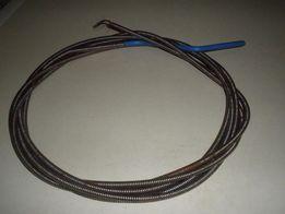 Стальной (8мм гибкий шланг(трос) для прочистки труб