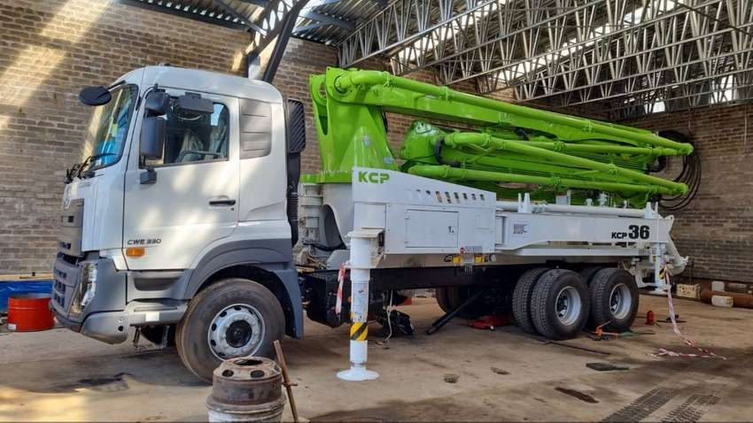 Brand new 36m concrete pump