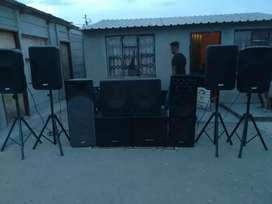 Sound and disco lights for hire