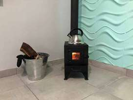 Coal & Wood Burning Close Combustion Stoves/ Fire places