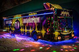 PartyBus Manhattan дискотека на колесах пати бас патибас Party Bus