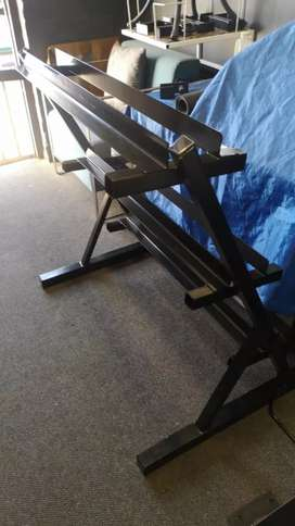Dumbbell stand specials. Extra Heavy duty. Visit our workshop today