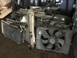 Диффузор вентилятор охлаждения люк Mercedes W202 210 W203 163