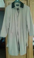 Крутой мужской плащ-пальто р.XL