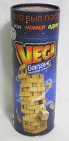 """""""VEGA"""" 56 брусков. Настольная развлекательная игра. (Дженга, Вега)"""