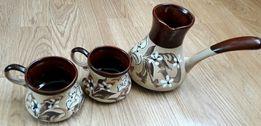 Керамічний кавовий набір