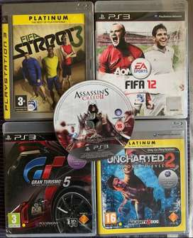 5 Blu - Ray playstation 3 games for sale -R500