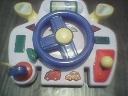 Руль- интерактивная развивающая игрушка для маленького водителя