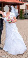 Piękna suknia ślubna rozm. 40-42/170 cm