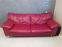Шкіряний диван з Німеччини